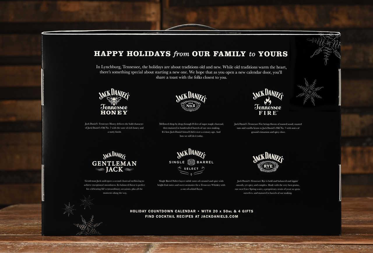 The Jack Daniels Advent Calendar Will Keep You Warm All