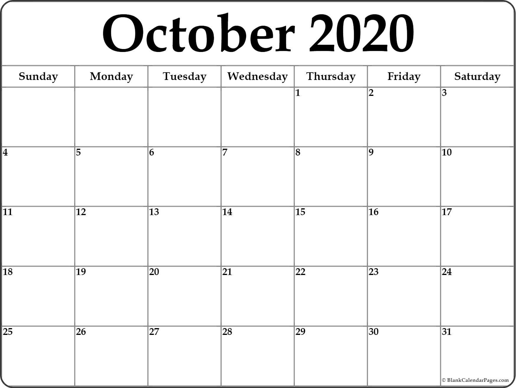 This Month Calendar 2020 - Togo.wpart.co