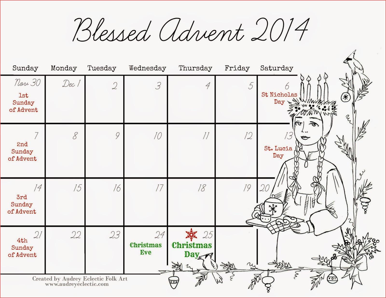 Top 41 Magnificent Printable Catholic Advent Calendar Free