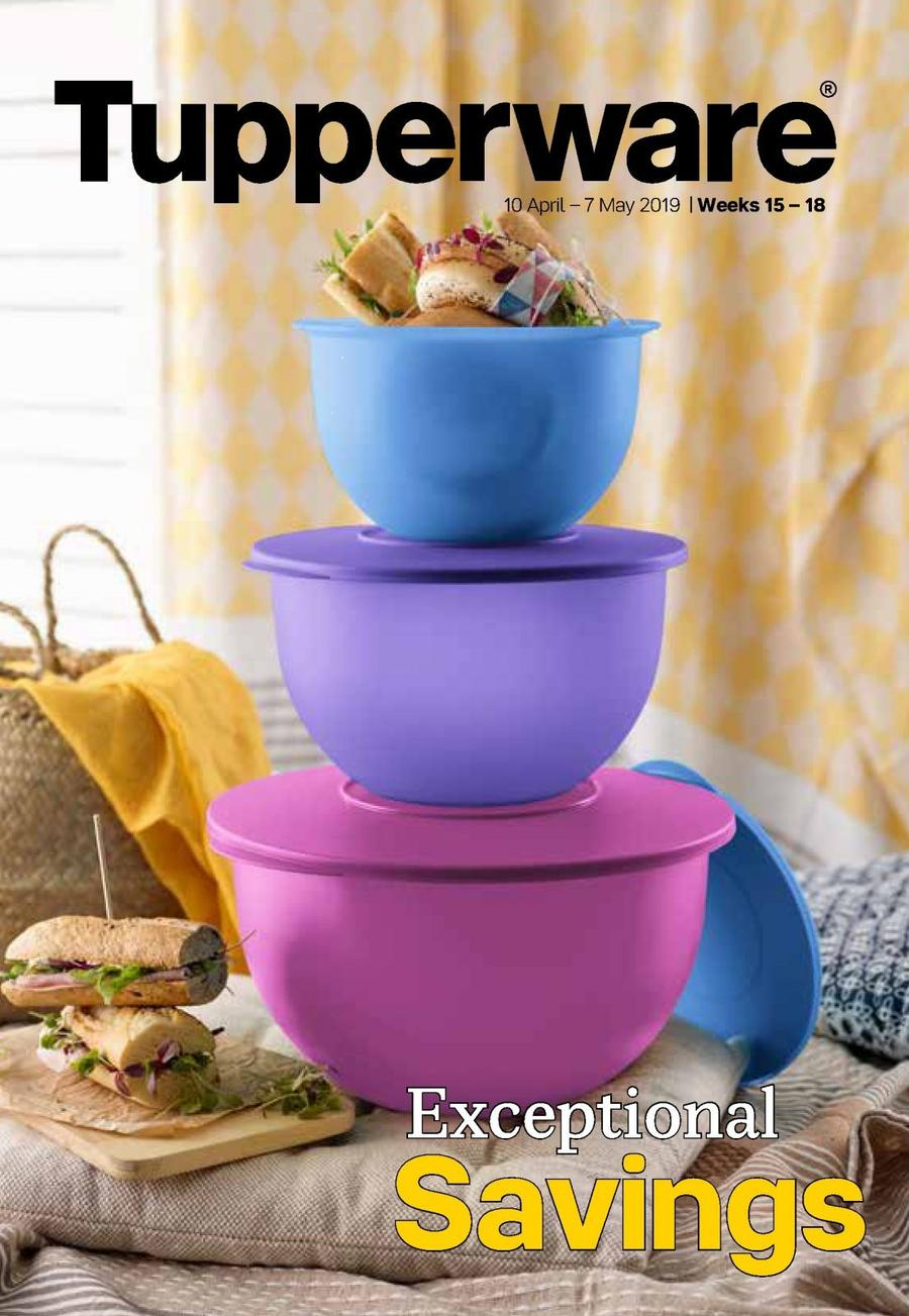 Tupperware (10 Apr - 07 May 2019) — Www.guzzle.co.za