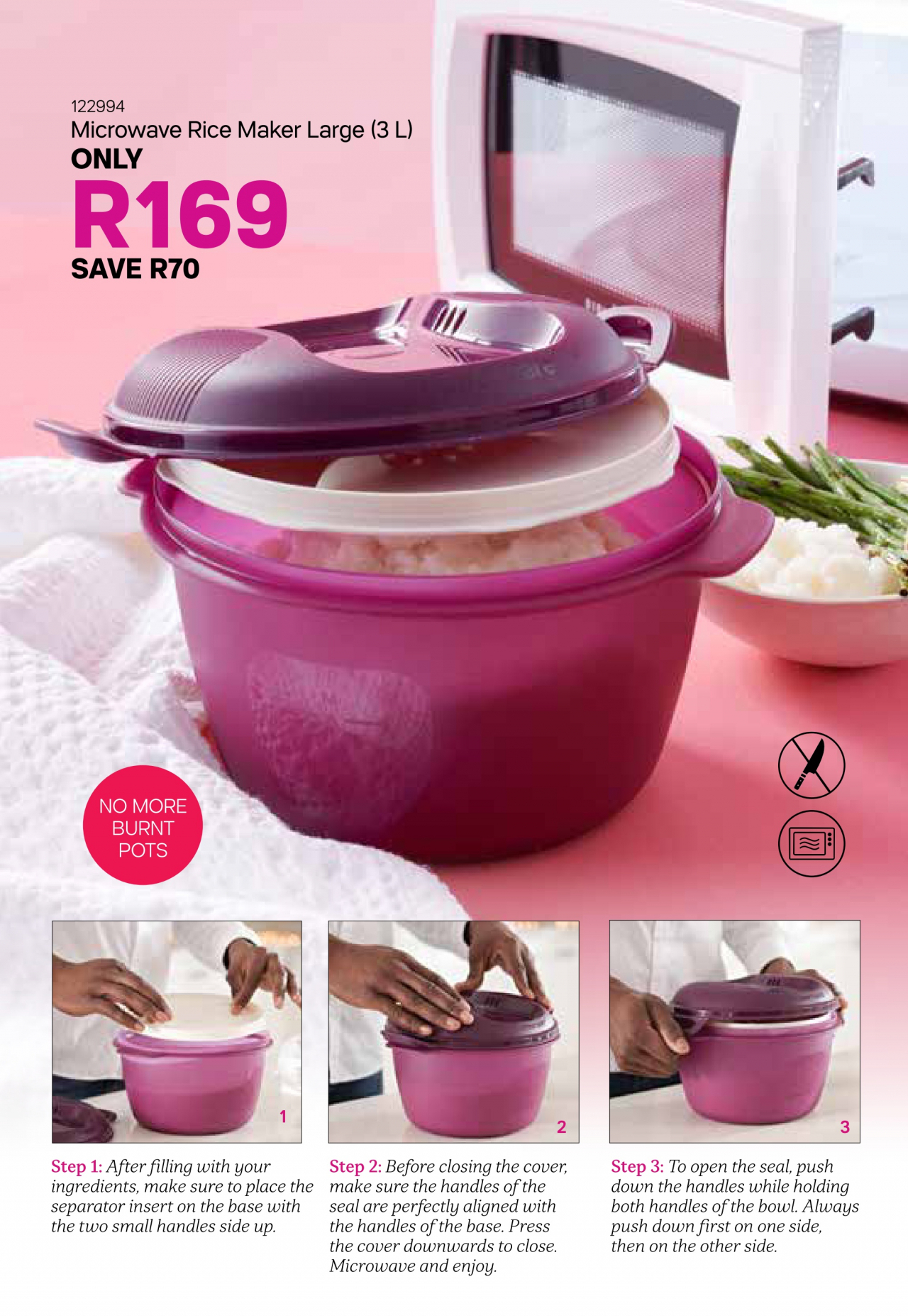 Tupperware Monthly Special – Valid 04/12/2019 - 07/01/2020