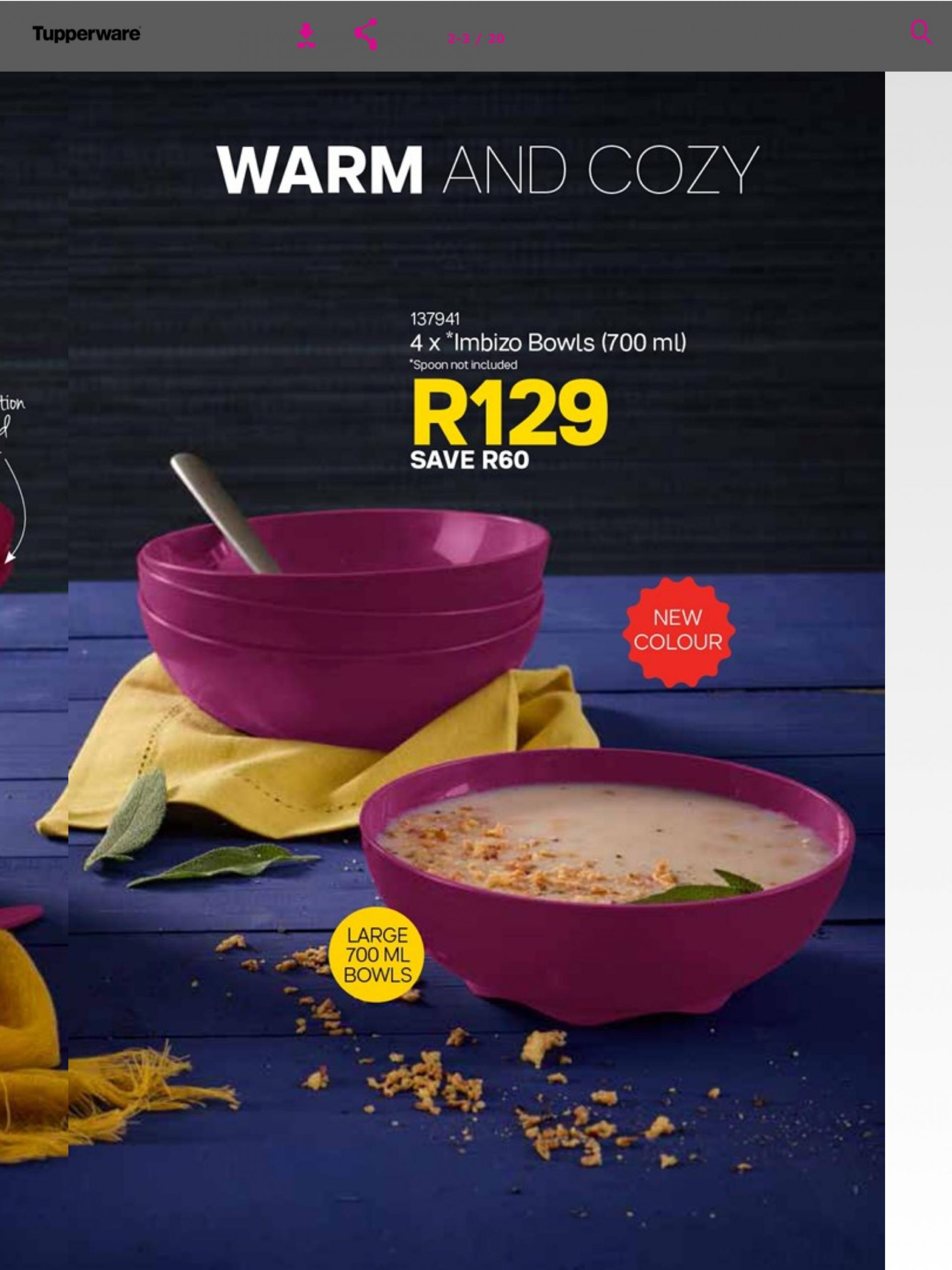 Tupperware Sa Brochure For Android - Apk Download