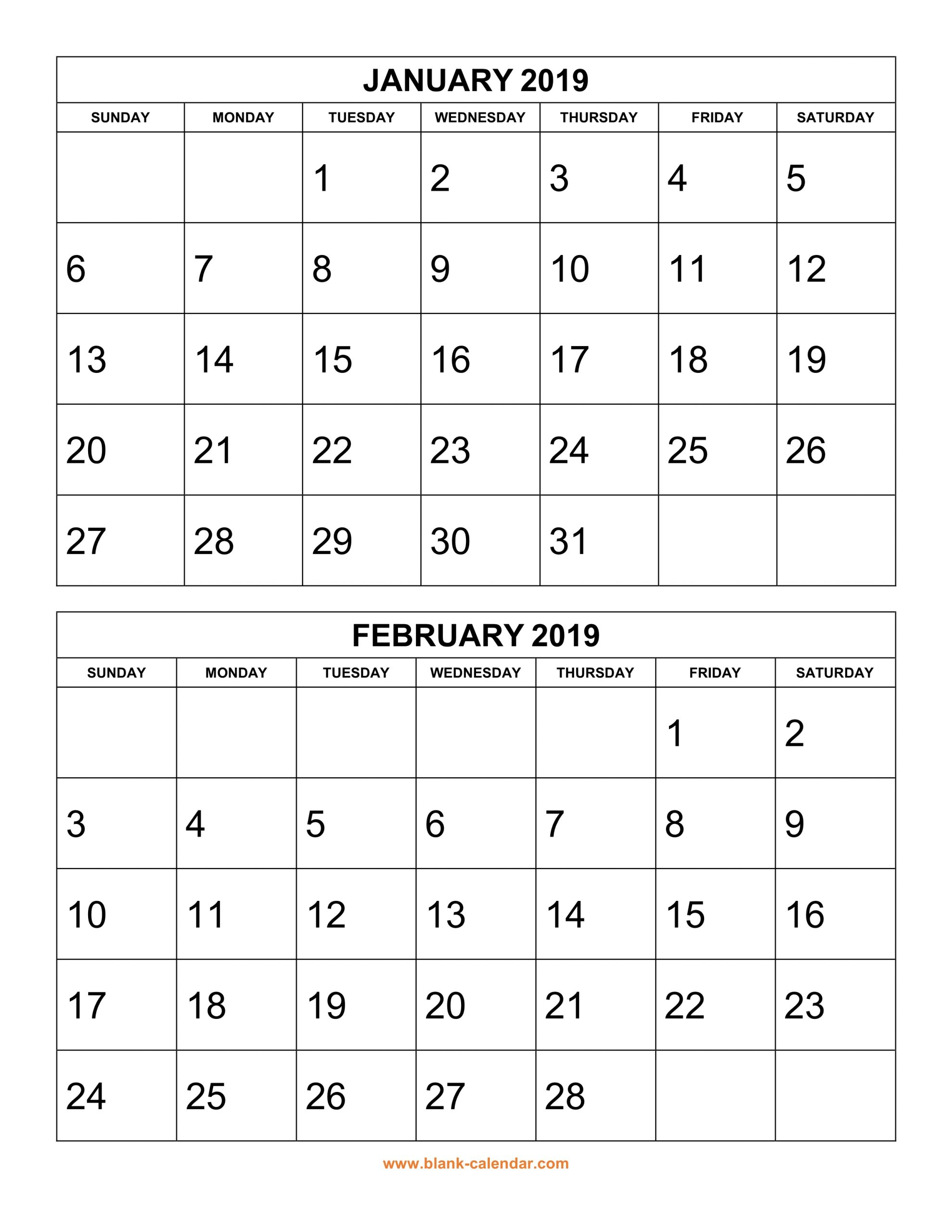 Two Month Calendar - Togo.wpart.co