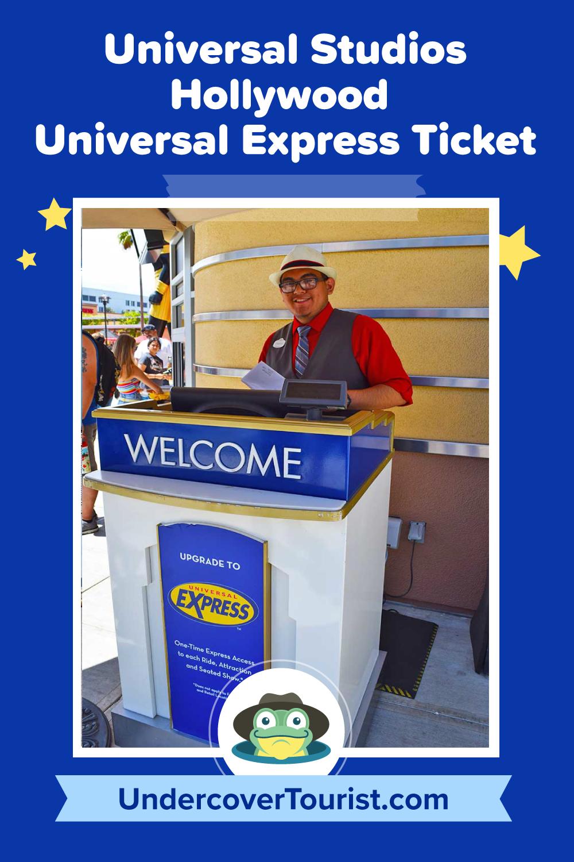 Universal Studios Hollywood Universal Express Pass