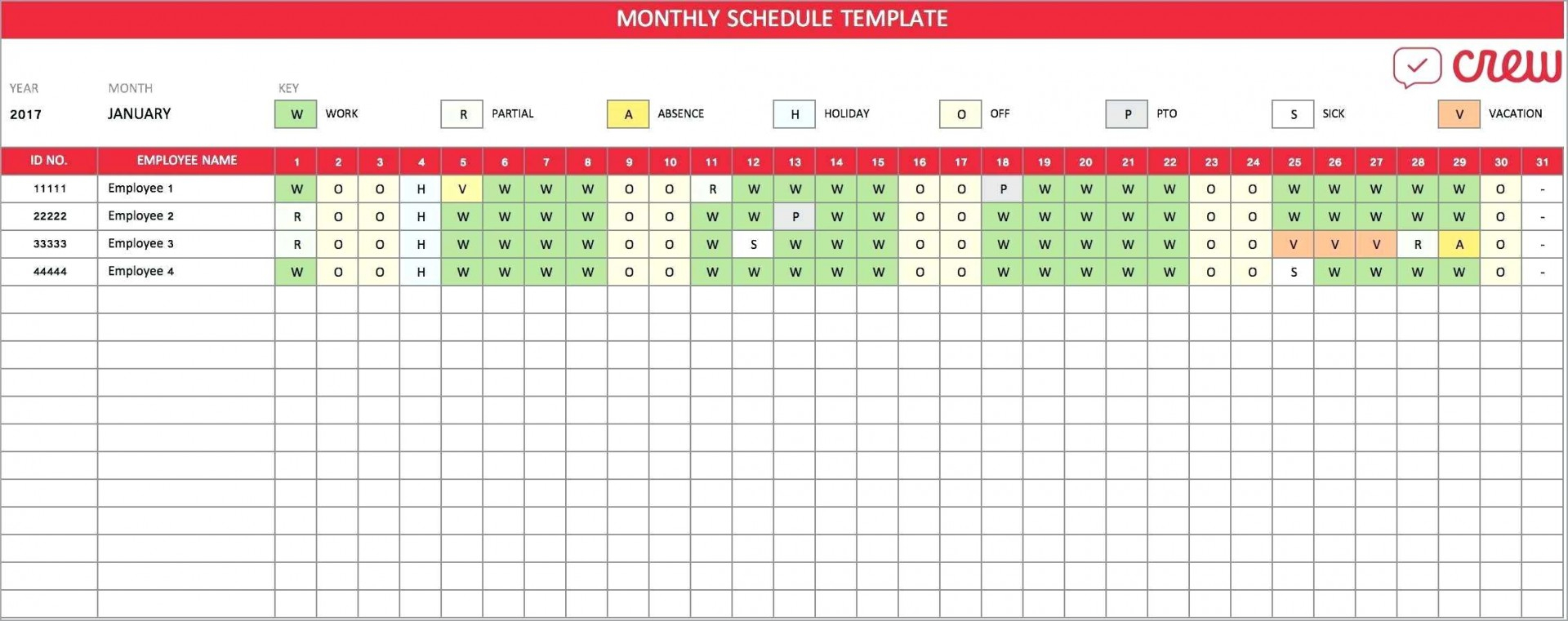 Unusual Monthly Work Schedule Template Excel Ideas Free