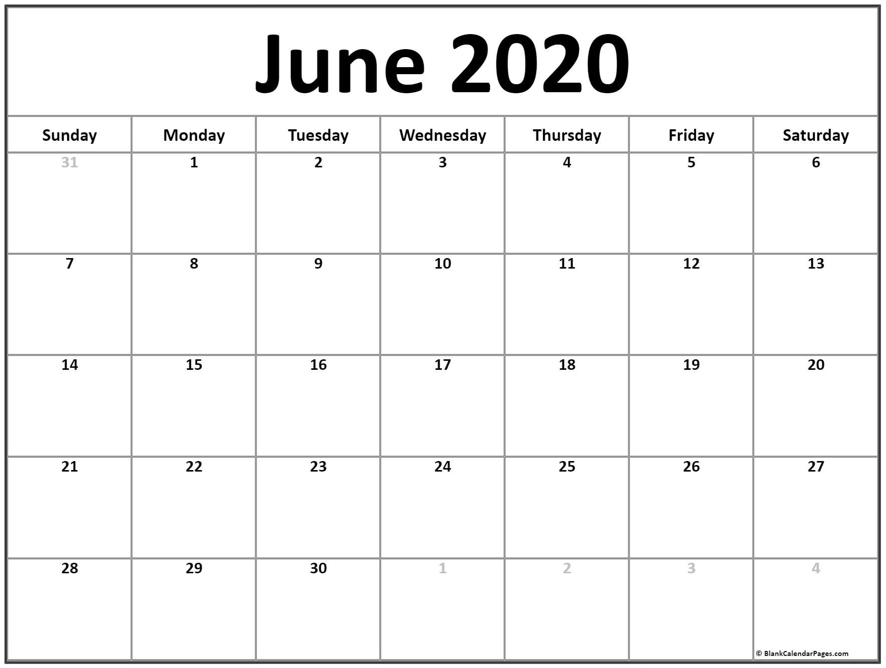 Write In Calendar 2020 - Togo.wpart.co