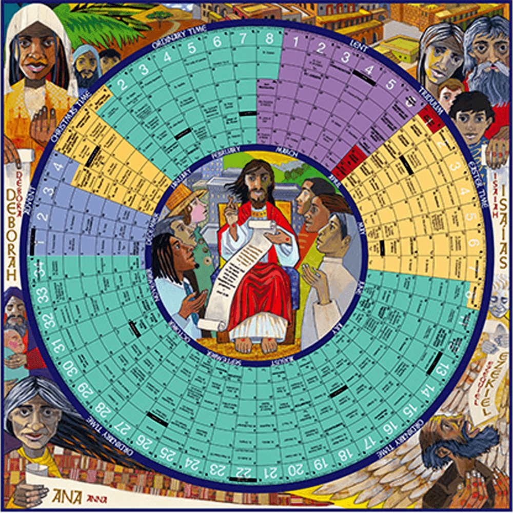 Year Of Grace Liturgical Calendar: 2020 Laminated Poster Edition | Aquinas  And More Catholic Gifts