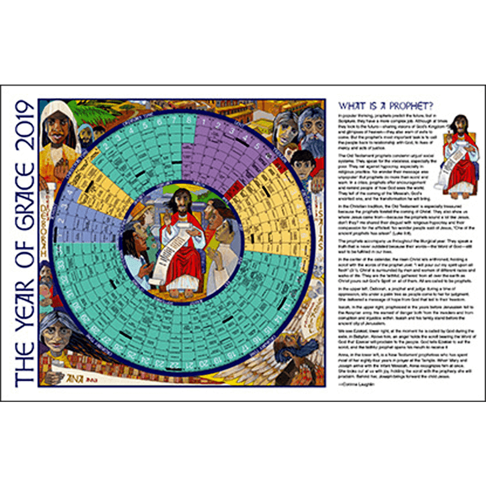 Year Of Grace Liturgical Calendars 25 Pack: 2020 Paper Notebook Edition |  Aquinas And More Catholic Gifts