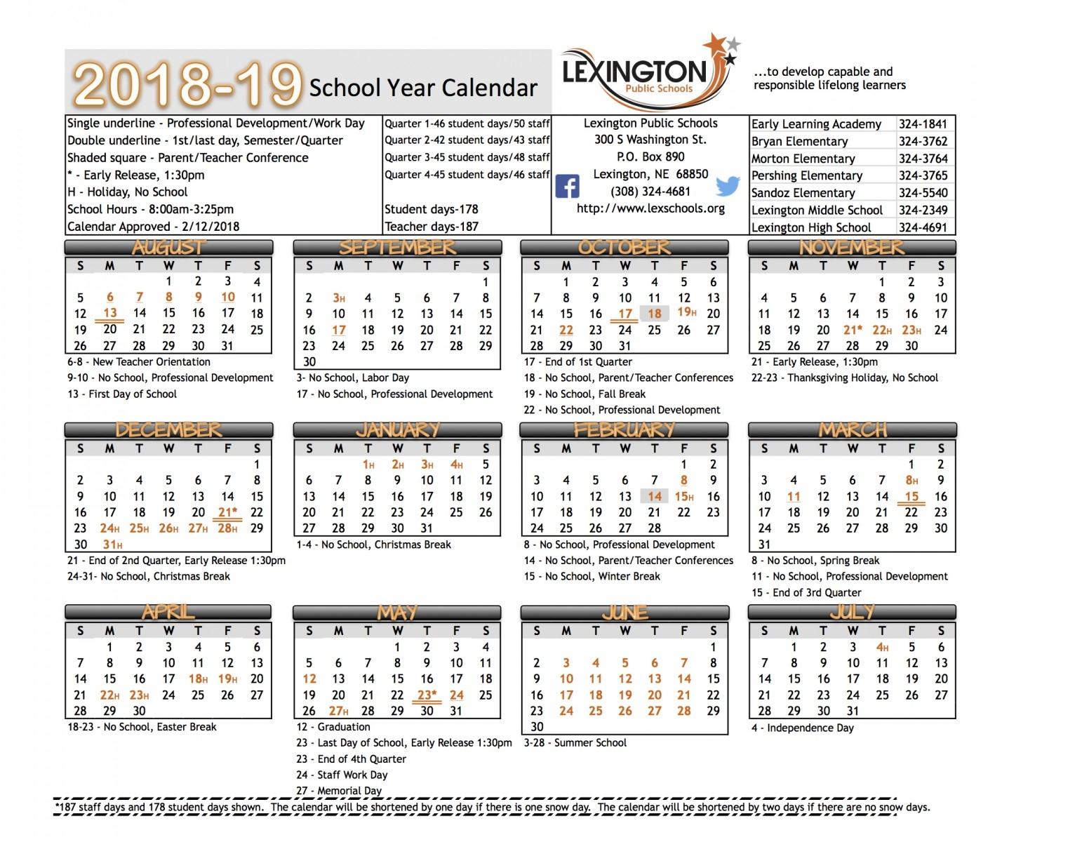 Yrdsb 2020 Calendar | Calendar Template Printable