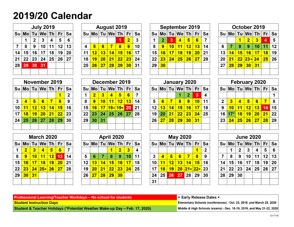 Board Approves Upcoming Calendars – West Jackson Middle School