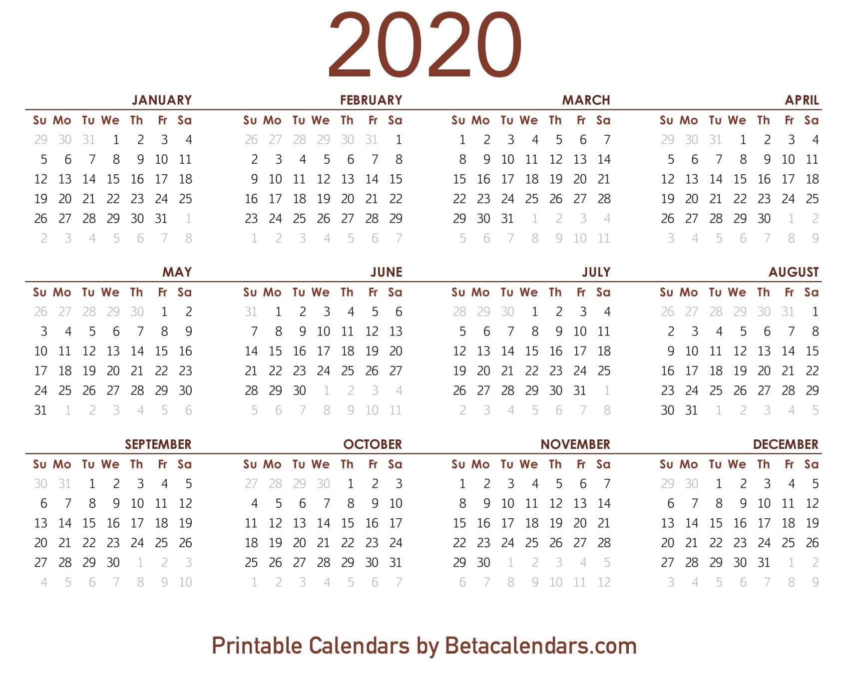 Download 2020 Calendar Nsw | Download 2019 Calendar-2020