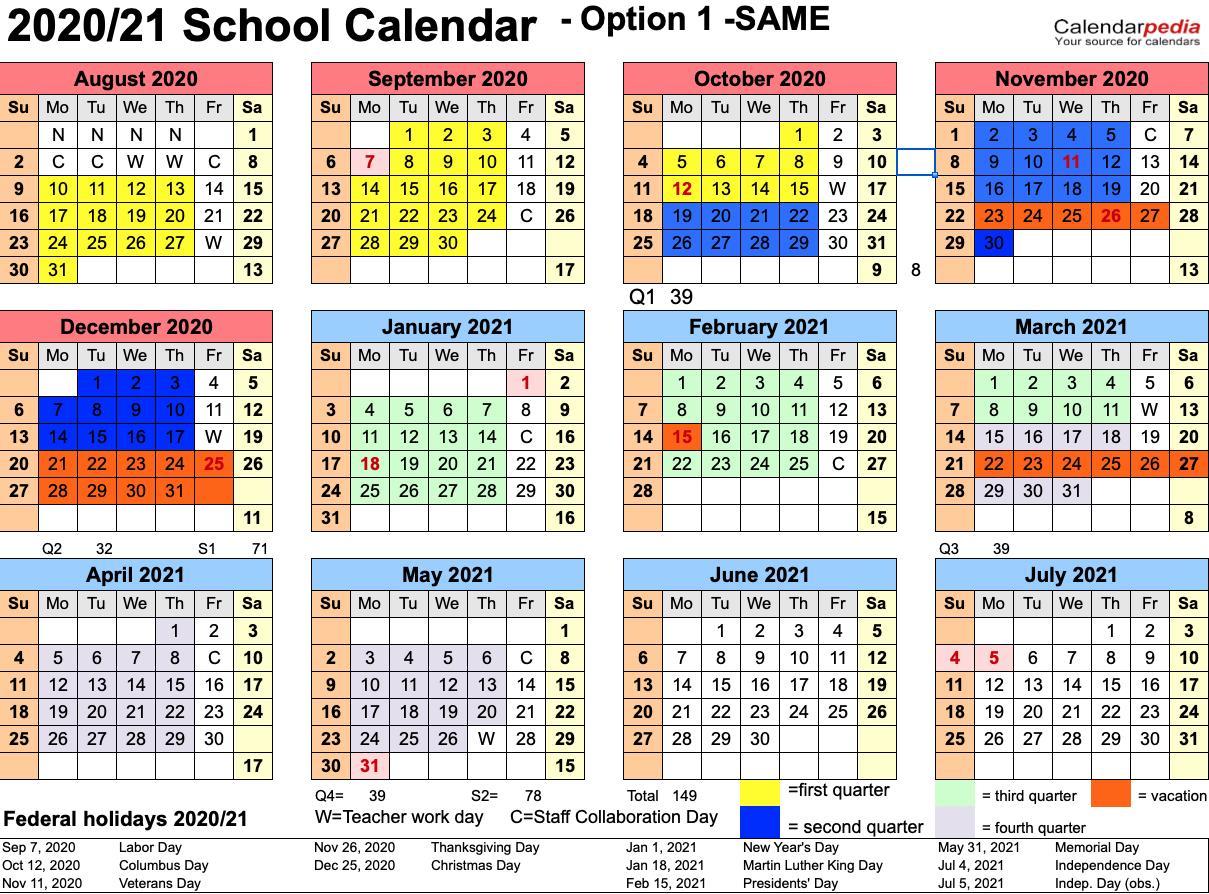 Garfield Re-2 Calendar Survey - Garfield School District No