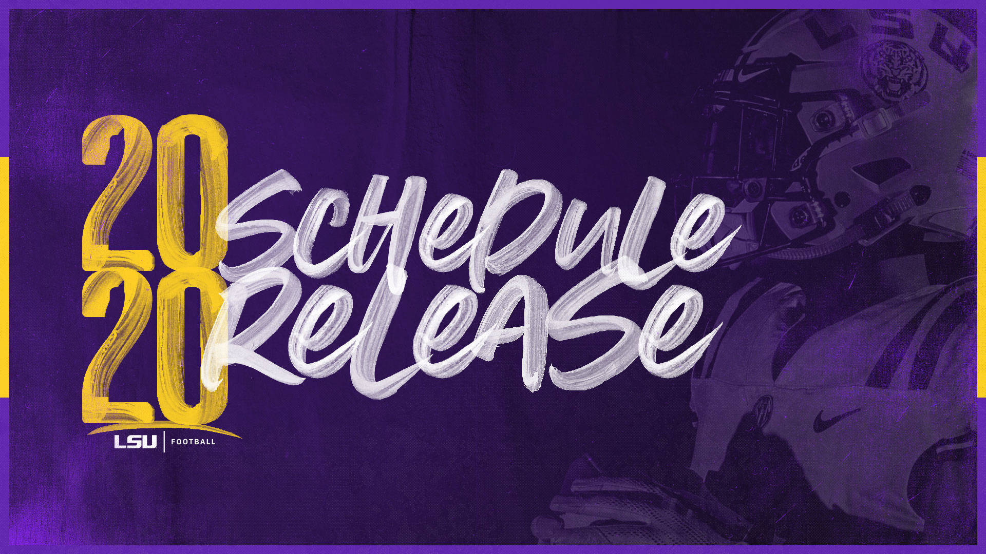 Lsu Announces 2020 Football Schedule - Lsu Tigers