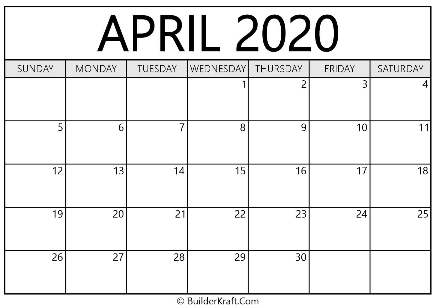 May 2020 Calendar | May Calendar Template 2020 Yearly!!