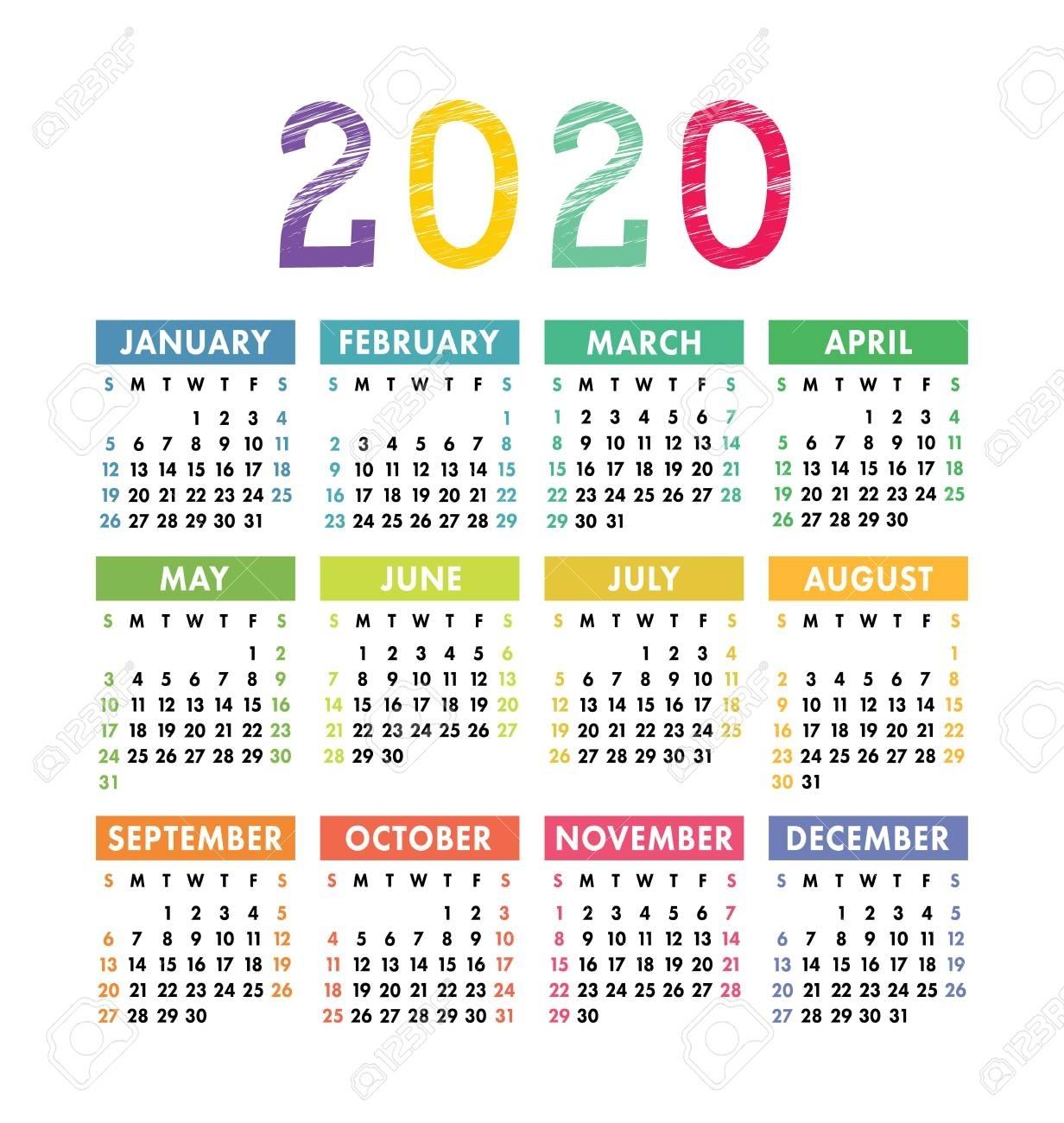 Pocket Calendars 2020 – Urgup.ewrs2018-Hallmark Calendar