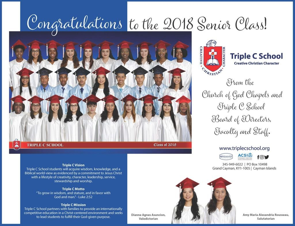 "Triple C School On Twitter: ""we Want To Congratulate All The"
