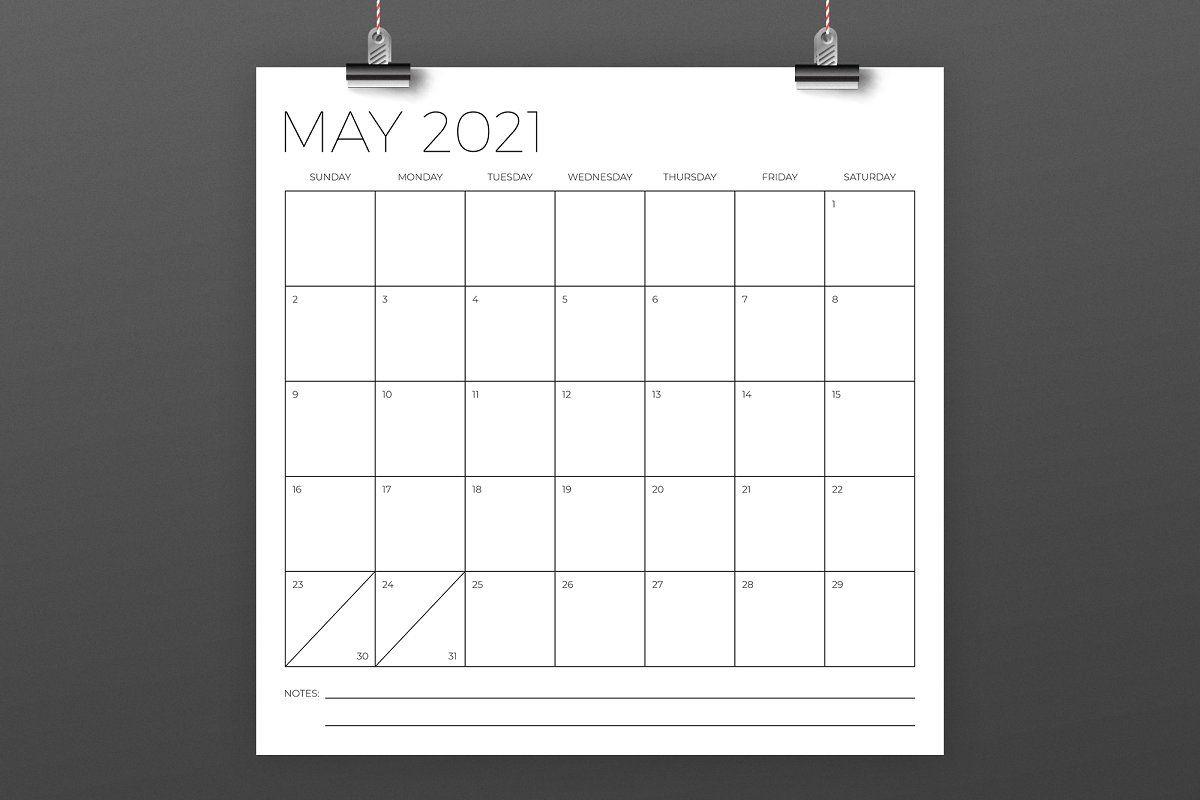 12 X 12 Inch Minimal 2021 Calendar In 2020 | 2020 Calendar