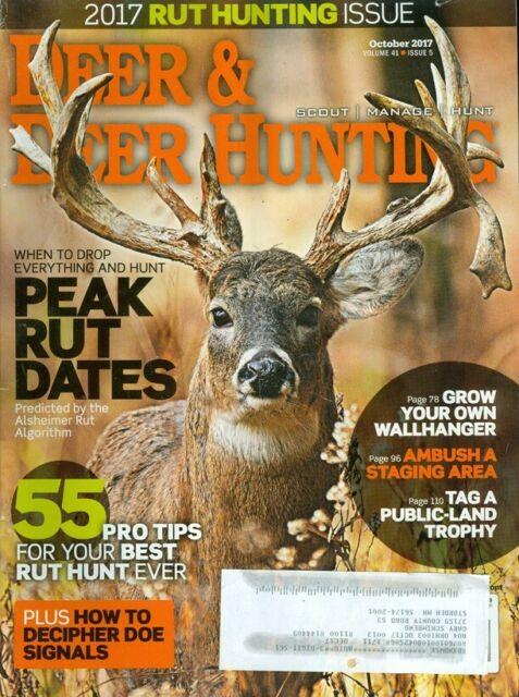 2017 Deer & Deer Hunting Magazine: Rut Hunting Issue/Peak