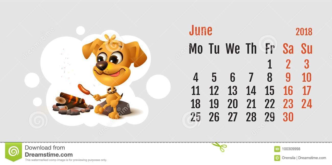 2018 Год Желтой Собаки На Китайском Календаре Желтая