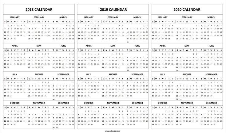 2019-2020 Fill In Calendar In 2020 | Calendar Printables