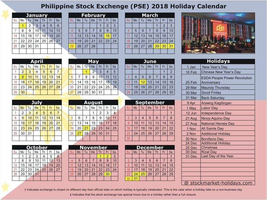 2019 Holidays Philippines Official Gazette – Template