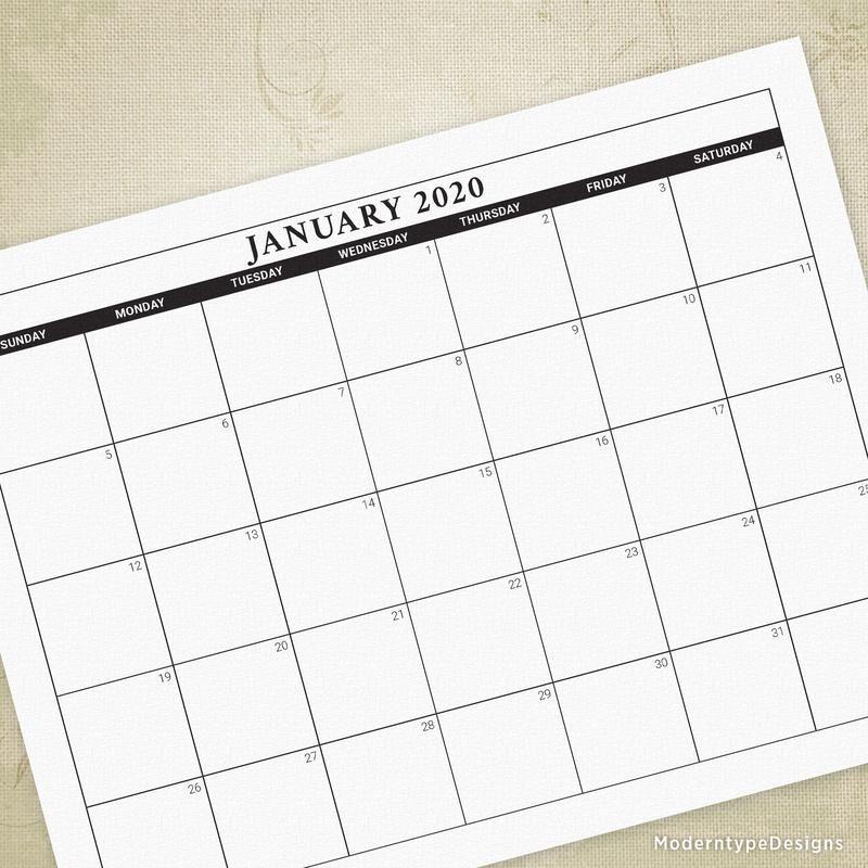 2020, 2021 & 2022 Printable Calendars | Printable Calendar