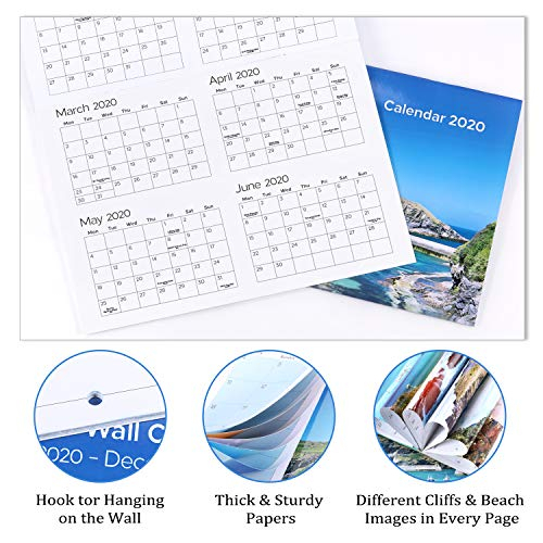 2020 2021 Wall Calendar – Month To View Calendar With