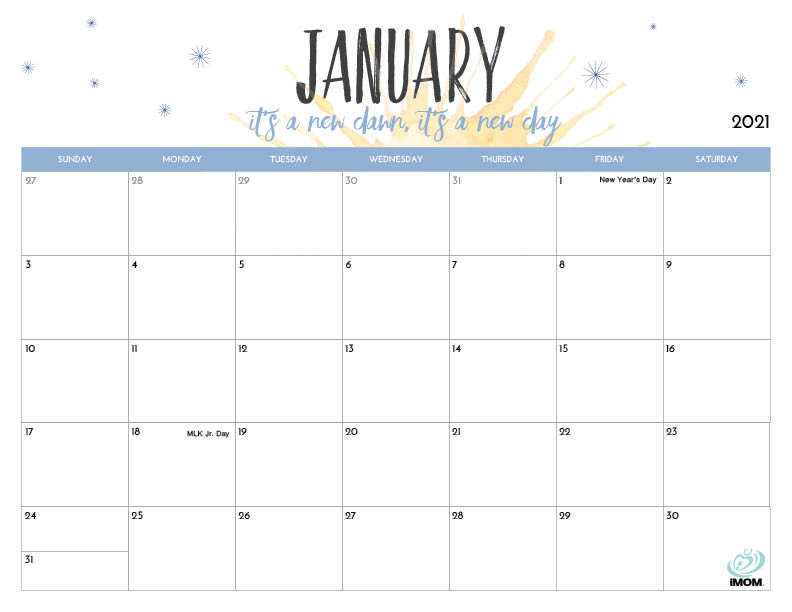 2020 And 2021 Printable Calendars For Moms - Imom