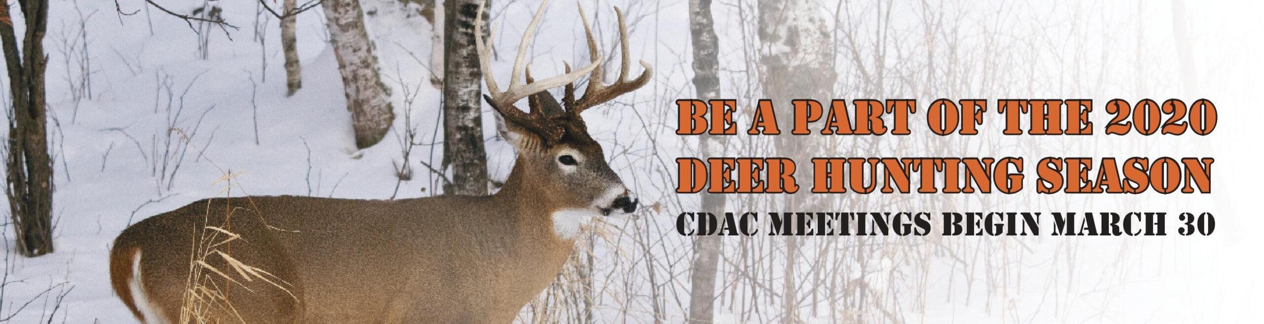 2020 Deer Hunting Forecast – Template Calendar Design