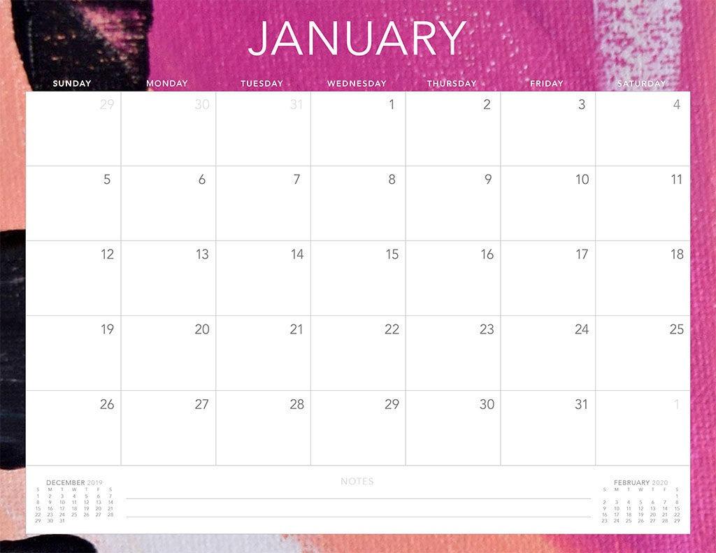 2020 Printable Calendar – Sunday Thru Saturday | Calendar