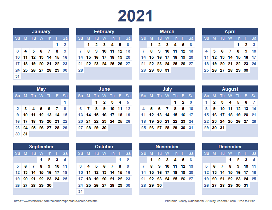 Printable Yearly Full Moon Calendar For 2021 | Calendar ...
