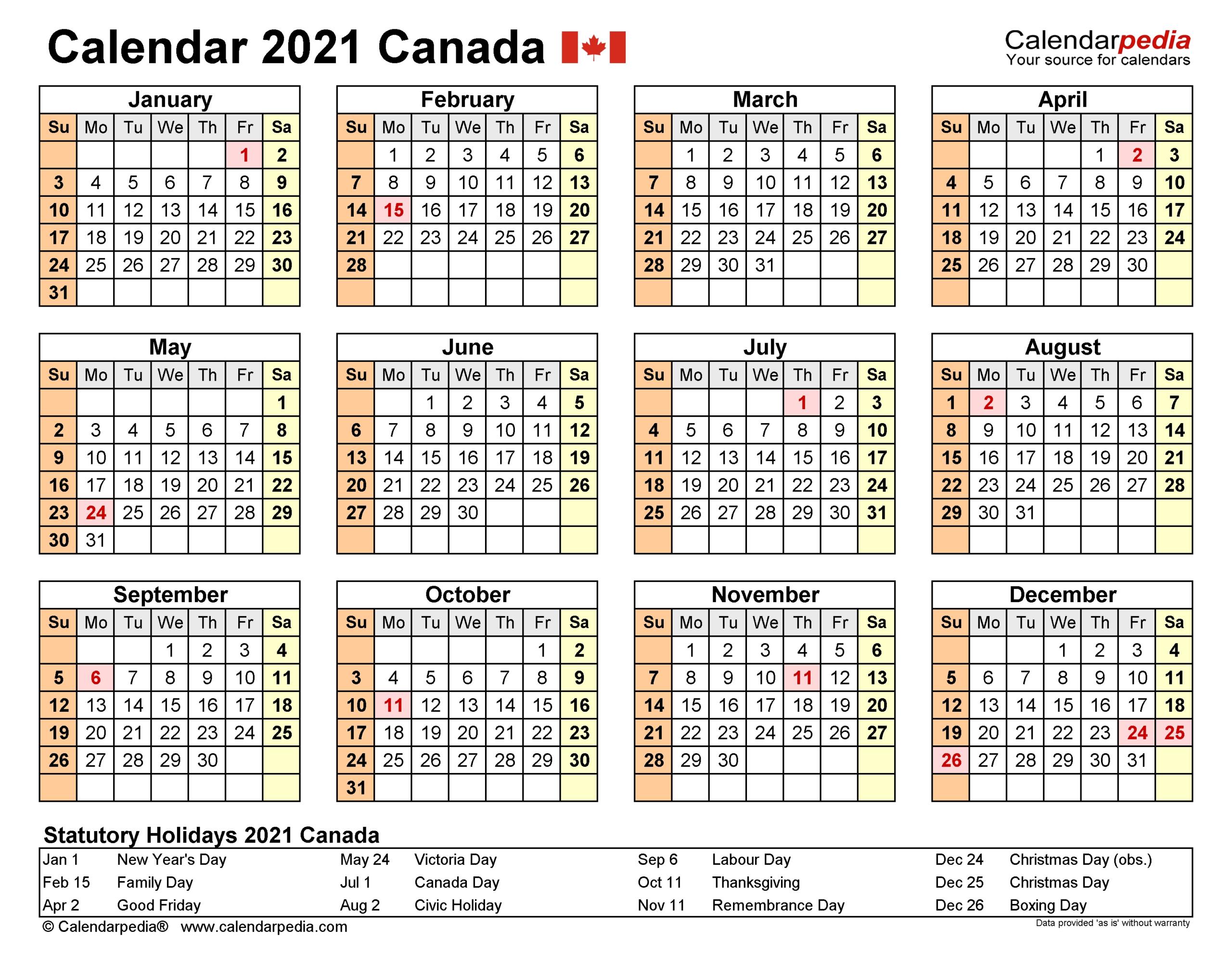 2021 Financial Year Calendar – Template Calendar Design