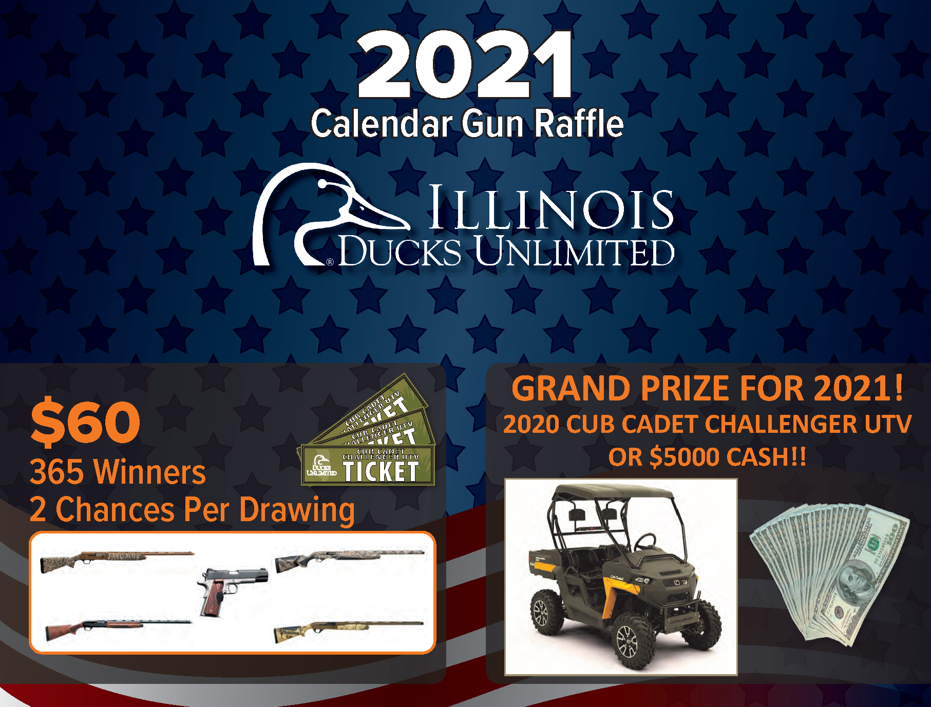 2021 Illinois Calendar Gun Raffle