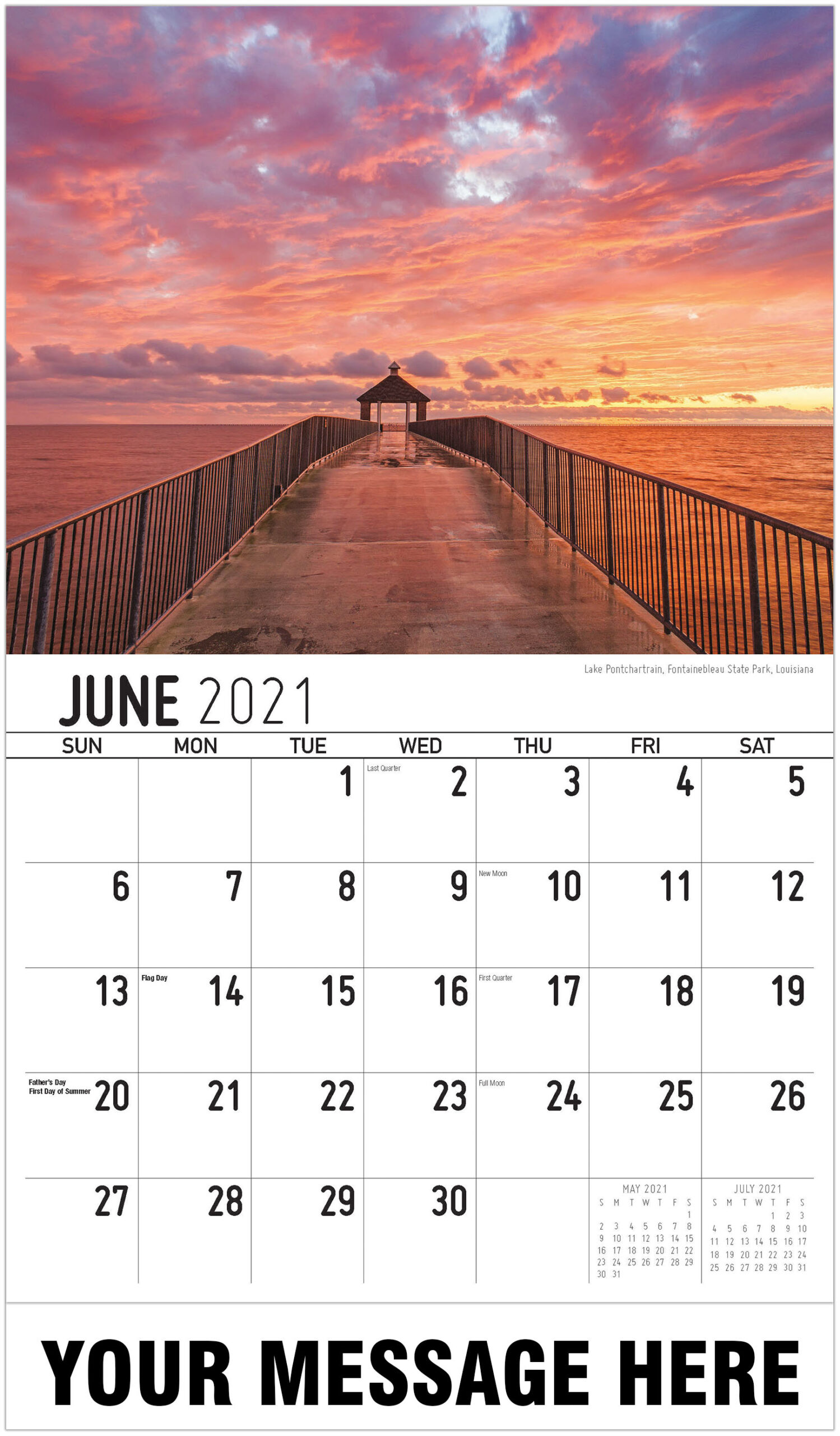 2021 Southeast Usa Scenic Calendar | Business Promotional