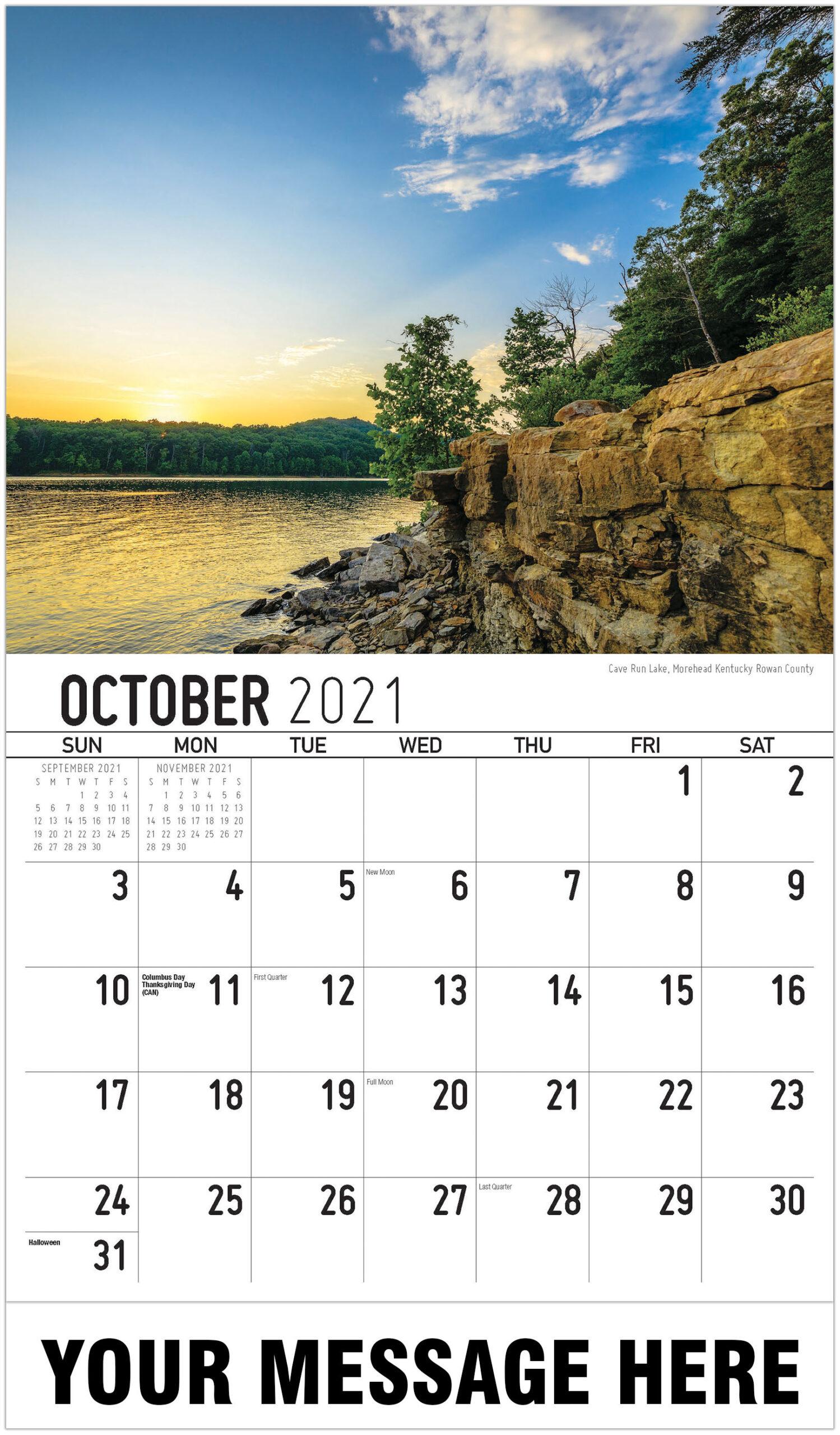 2021 Southeast Usa Scenic Calendar | Business Promotional