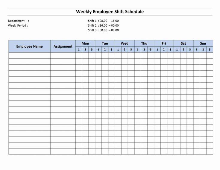 30 8 Hour Shift Schedule Template In 2020 | Schedule