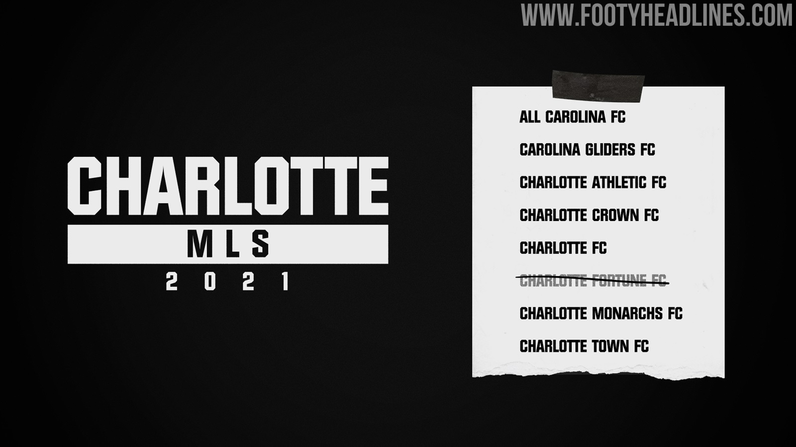 7 Tên Còn Lại - Đội Charlotte Mls 2021 Thông Báo Tên Và