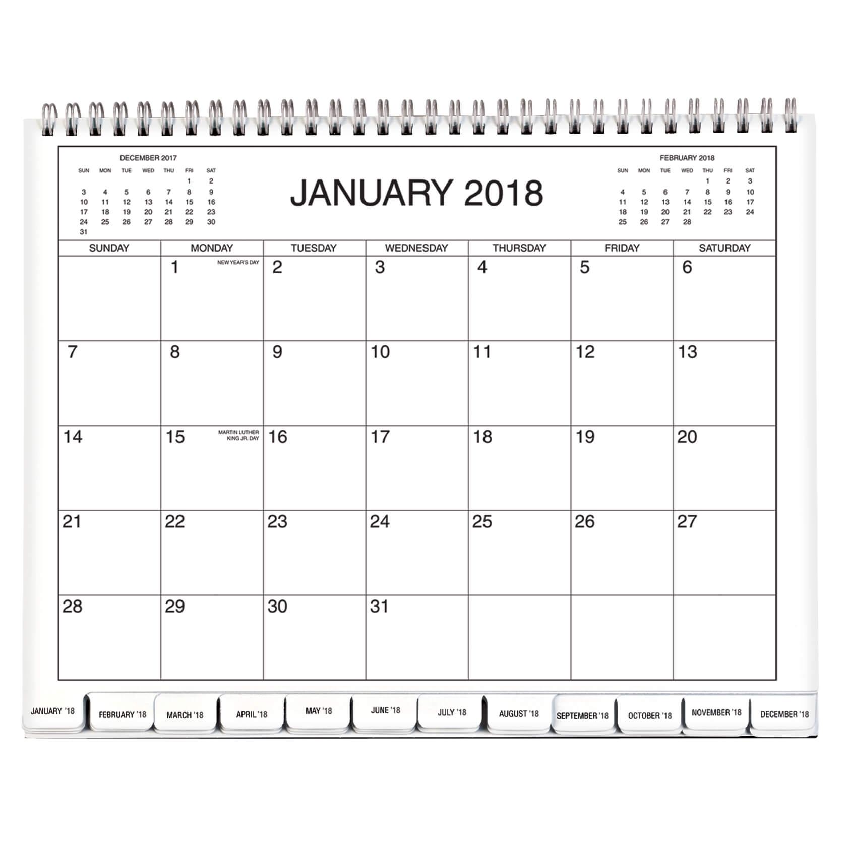 8.5 X 11 Year Calendar | Ten Free Printable Calendar 2019-2020