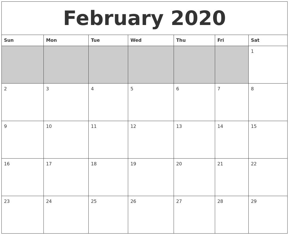 A3 Calendar 2020 – Template Calendar Design