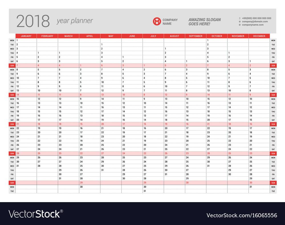 Annual Leave Planner 2020 | Printable Calendar 2019 2020