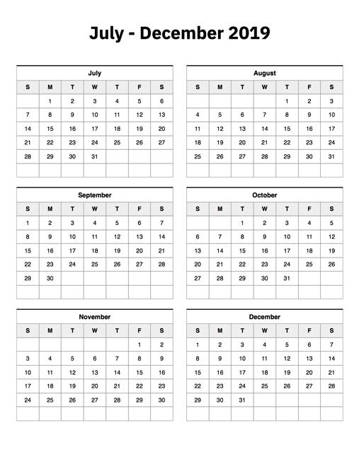 Aug Sep 2019 Calendar | Qualads