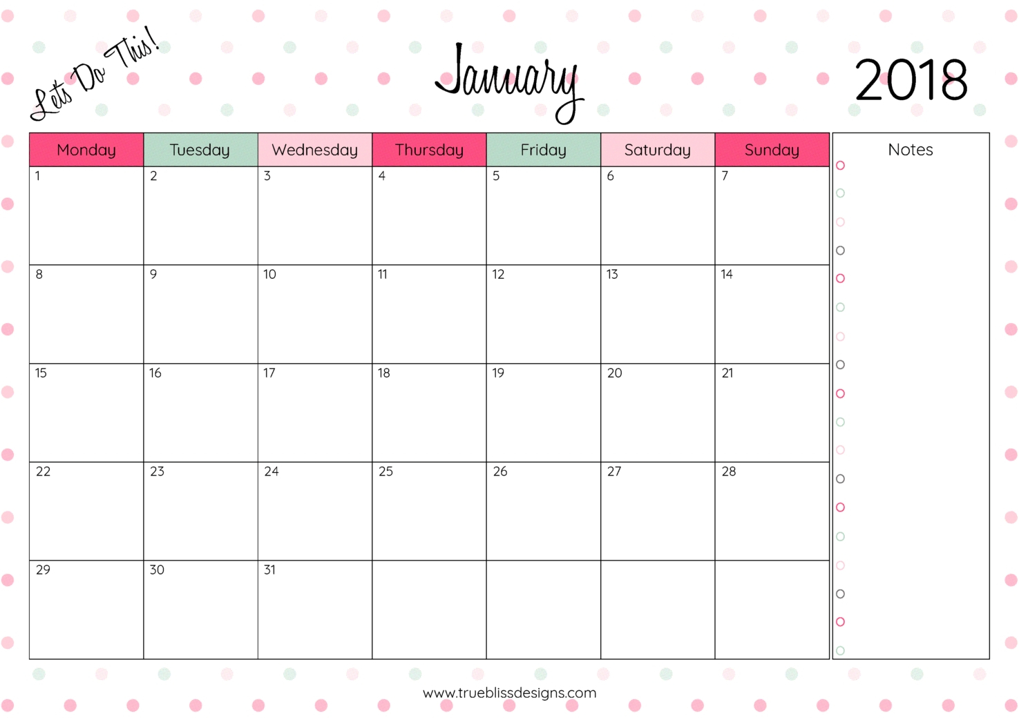 August 2018 – Page 12 – Template Calendar Design
