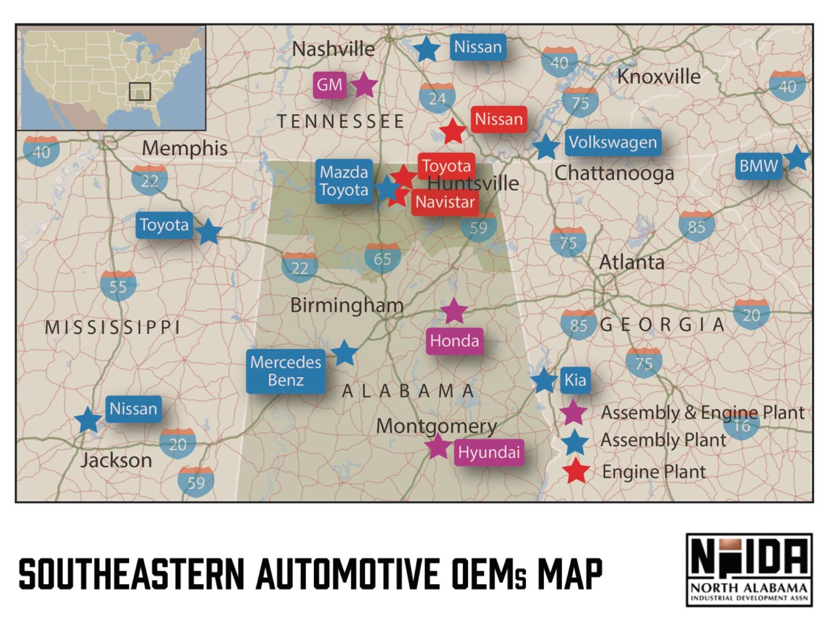 Automotive - North Alabama Industrial Development Association