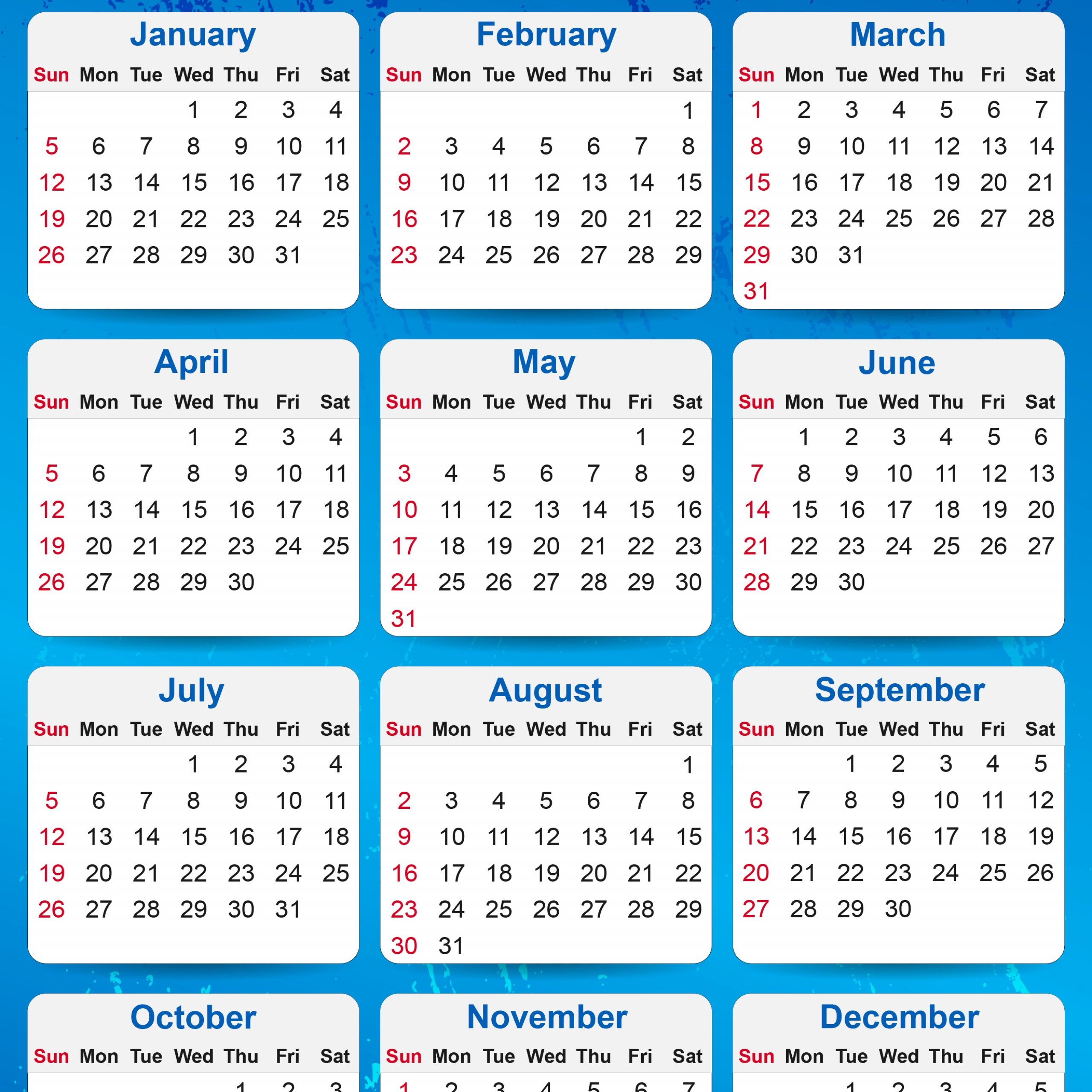 Calendar 2020 20 | Printable Calendar Free