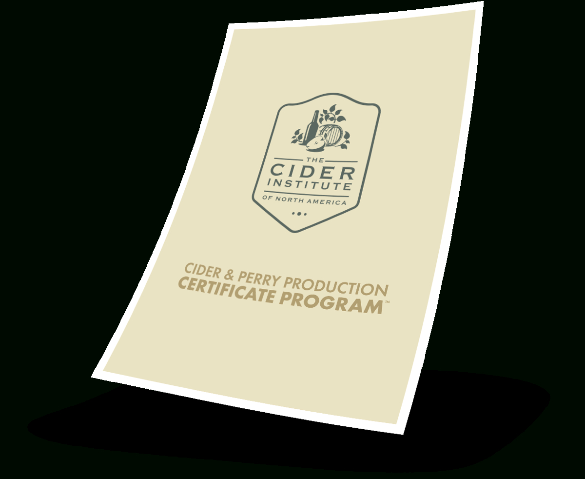 Cider Institute Courses | High-Quality, Hands-On Trainings