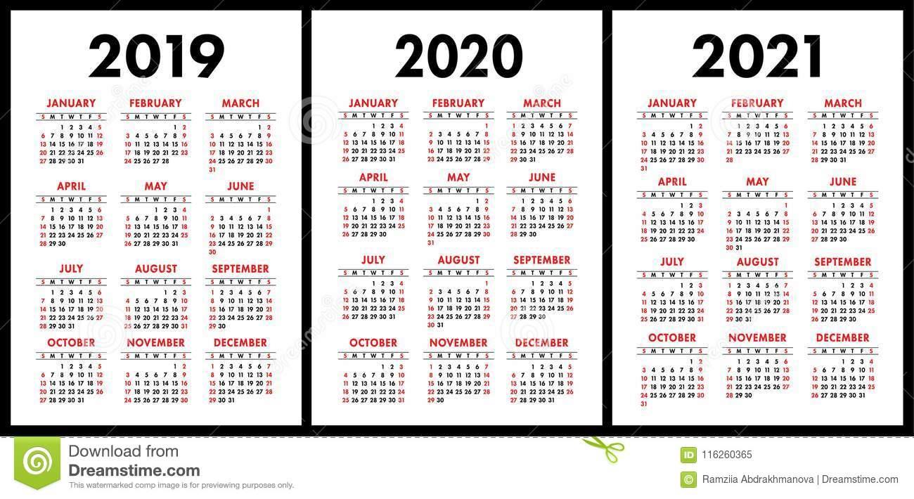 Collect 2 Year Pocket Calendar 2020 2021 | Calendar