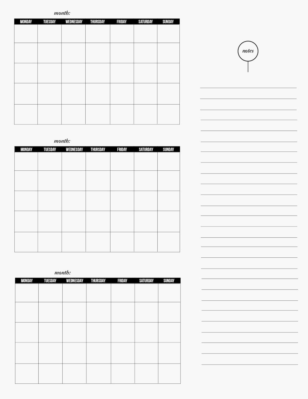Depo Provera Perpetual Printable Calendar 2018 – Template