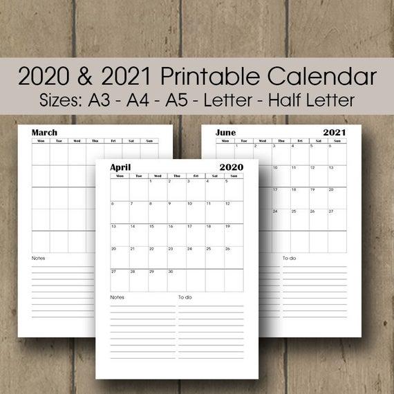 最高 Ever A4 Size March 2020 Calendar Printable - ジャトガヤマ