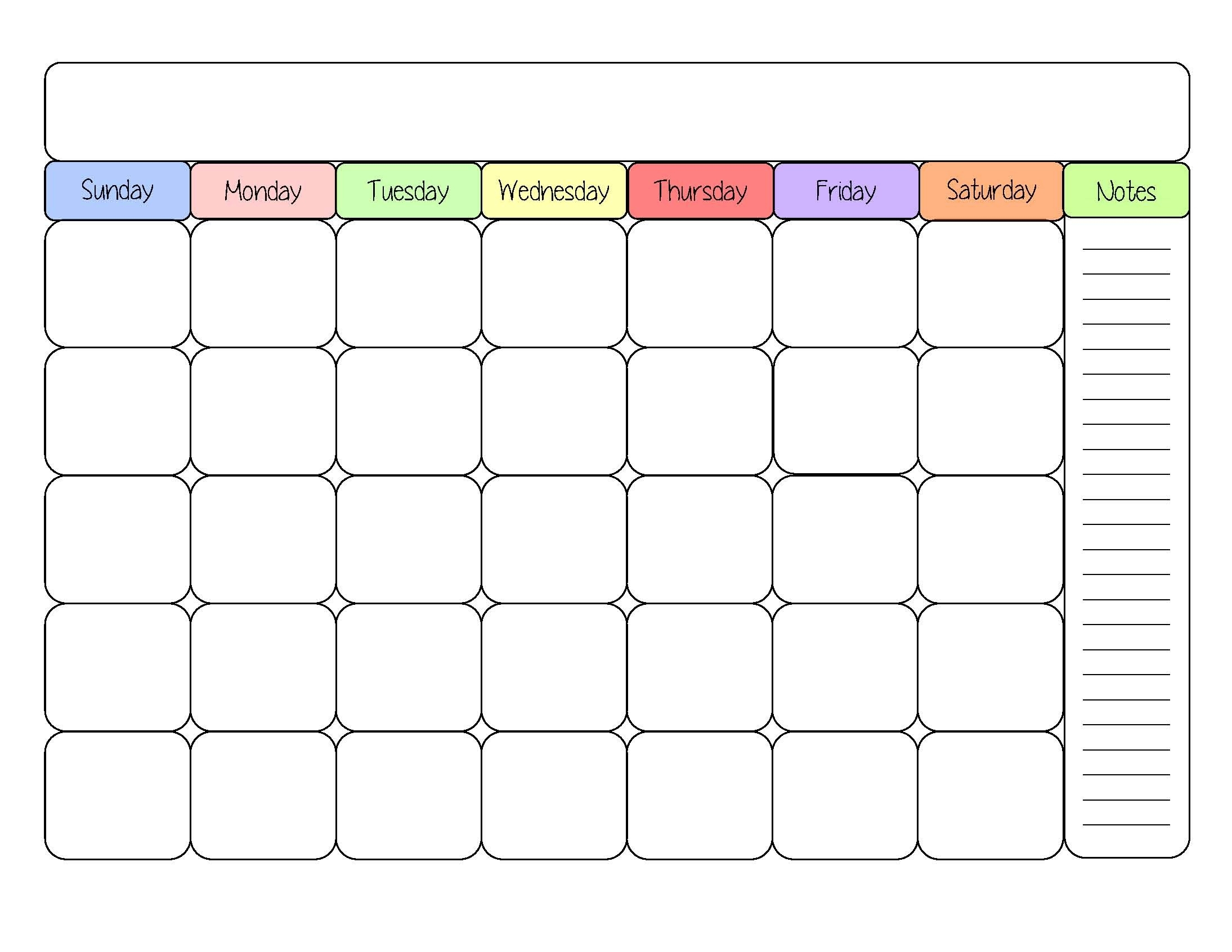 February 2019 – Page 4 – Template Calendar Design