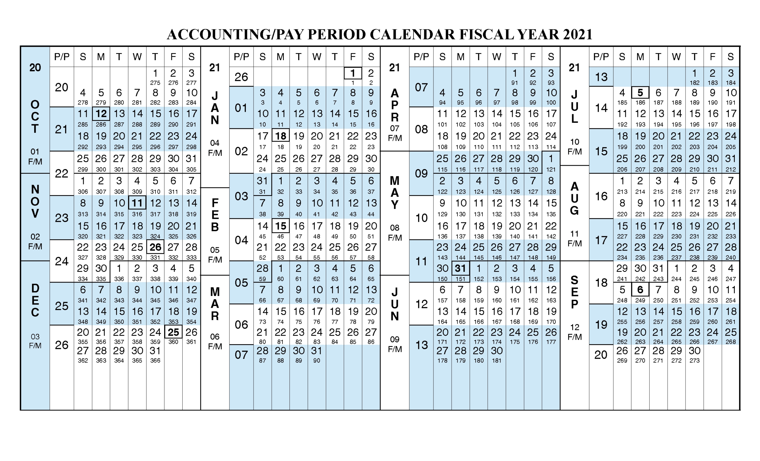Federal Government 2020 Calendar | Calendar Printable Free